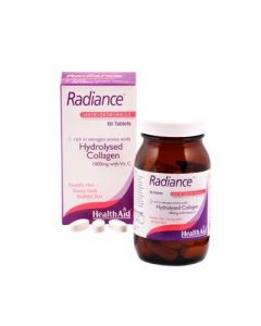 Health Aid Radiance Hydrolysed Collagen 1000mg with Vit.C 60 Tabs