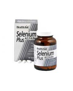 Health Aid Selenium Plus 200μg A, C, E 60 Tabs Σελήνιο