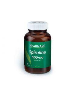 Health Aid Spirulina 500mg 60 Tabs Σπιρουλίνα