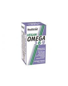 Health Aid Vegan Omega 3-6-9 60 Caps Λιπαρά Οξέα