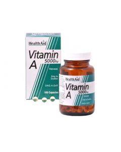 Health Aid Vitamin A 5000iu 100 Caps