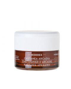 Korres Castanea Arcadia Night Cream 40ml Καστανιά Αρκαδική Αντιρυτιδική & Συσφιγκτική Κρέμα Νύχτας