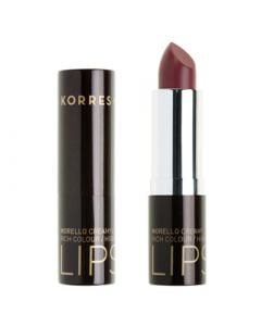 Korres Morello Creamy Lipstick 3.5ml Ν.23 Natural Purple