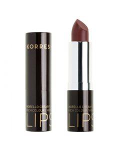 Korres Morello Creamy Lipstick 3.5ml Ν.34 Brown Moca