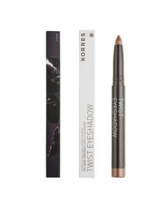 Korres Twist Eyeshadow 1.4gr 29 Golden Bronze Κρεμώδης Σκιά Ματιών
