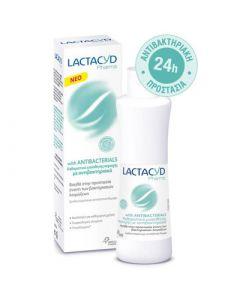 Lactacyd Pharma Antibacterial 250ml Καθαριστικό Ευαίσθητης Περιοχής Aντιβακτηριακό