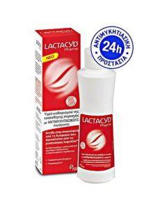 Lactacyd Pharma Antifungal 250ml Καθαριστικό Ευαίσθητης Περιοχής με Αντιμυκητασικούς Παράγοντες