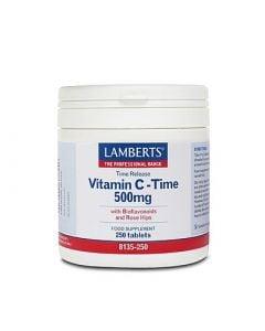 Lamberts Vitamin C 500mg T/R 250 Tabs