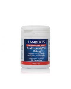 Lamberts Co-Enzyme Q10 100mg 30 Caps Συνένζυμο Q10