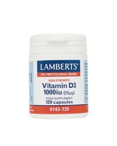 BestPharmacy.gr - Photo of Lamberts Vitamin D 1000IU 120 Tabs