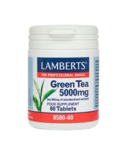 Lamberts Green Tea 5000mg 60 Tabs Πράσινο Τσάι