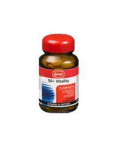 Lanes 50+ Vitality 30 Tabs Πολυβιταμίνη για Ενέργεια