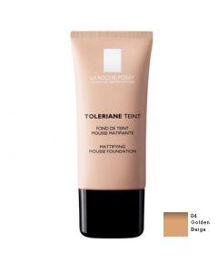 La Roche Posay Toleriane Teint Mattifying Mousse 30ml Make up 04 Golden Beige για Λιπαρά και Μικτά Δέρματα