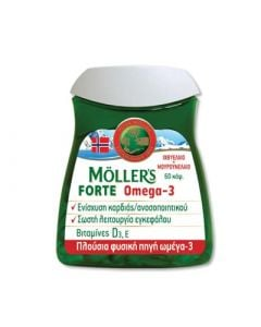 Nature's Plus Moller's Forte Omega-3 60 Caps
