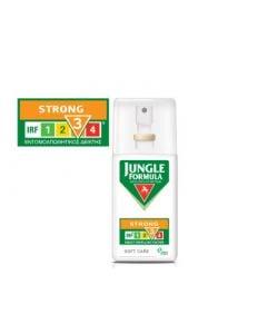 Jungle Formula Strong Soft Care 75ml Αντικουνουπικό Σπρέι Χωρίς Οινόπνευμα