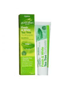 Optima Australian Organic Tea Tree Toothpaste 100ml Οδοντόκρεμα με Έλαιο Τεϊόδεντρου