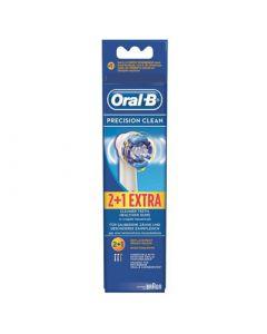 Oral-B Professional Clean Precision Clean Ανταλλακτικά για Ηλεκτρική Οδοντόβουρτσα 2 + 1 ΔΩΡΟ