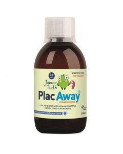 Plac Away Junior Teeth Mouthwash 250ml Στοματικό Διάλυμα για Παιδιά