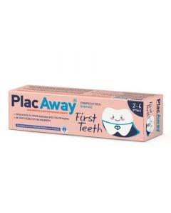 Plac Away First Teeth Toothpaste 50ml Οδοντόκρεμα για Παιδιά - Πρώτα Δόντια