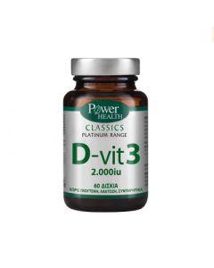 Power Health Classics Platinum D - Vit 3 60 Caps