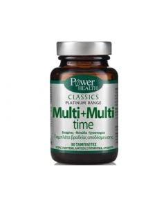 Power Health Classics Platinum Multi + Multi Time 30 Tabs Πολυβιταμίνη