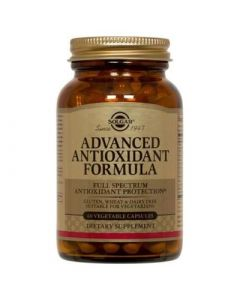 Solgar Advanced Antioxidant Formula 60 Caps Αντιοξειδωτικό