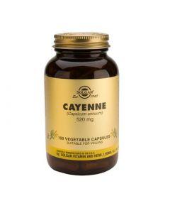 Solgar Cayenne 100 Veg. Caps