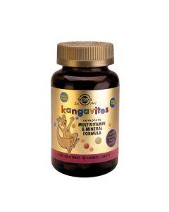 Solgar Kangavites Multivitamin & Mineral Formula Berry 60 Chewable Tabs