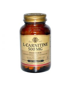 Solgar L-Carnitine 500mg 60 Tabs