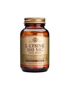 Solgar L-Lysine 500mg 50 Caps