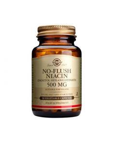 Solgar No-Flush Niacin 500mg 50 Caps