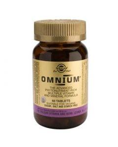 Solgar Omnium 60 Tabs Πολυβιταμίνη