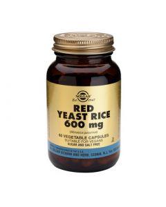 Solgar Red Yeast Rice Extract 600mg 60 Veg. Caps
