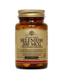Solgar Selenium 200μg 100 Tabs Σελήνιο