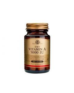 Solgar Vitamin A 5000IU 100 Dry Tabs