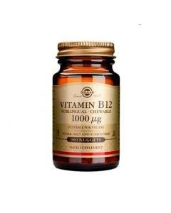 Solgar Vitamin B12 1000μg 100 Nuggets Υπογλώσσια