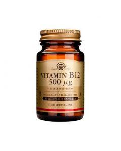 Solgar Vitamin B12 500μg 50 Veg. Caps