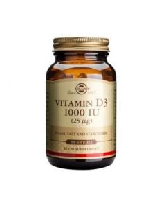 Solgar Vitamin D3 1000IU 100 Softgels