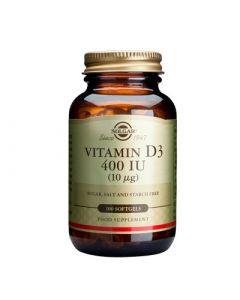 Solgar Vitamin D3 400IU 100 Softgels