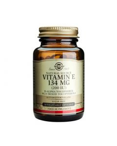 Solgar Vitamin E 200IU 134mg 50 Softgels