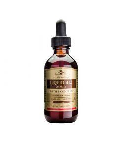 Solgar Liquid Vitamin B12 2000μg with B-Complex 59ml