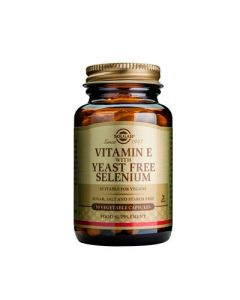 Solgar Vitamin E with Yeast Free Selenium 50 Caps