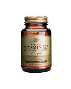 Solgar Vitamin K2 100μg 50 Veg, Caps