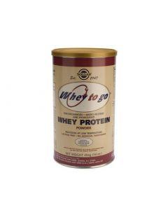 Solgar Whey to Go Protein Powder Chocolate 454gr Πρωτεΐνη σε Σκόνη Γεύση Σοκολάτα
