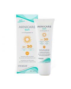 Synchroline Aknicare Face Sun Cream SPF30 50ml Αντιηλιακή Κρέμα Προσώπου
