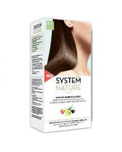 SantAngelica 6.1 Ash Dark Blond System Nature Hair Dye New Composition