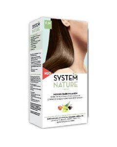 SantAngelica System Nature Hair Dye New Composition - 6.34 Copper Gold Dark Blond