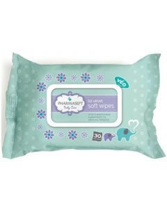 Pharmasept Tol Velvet Baby Soft Wipes 30 Items Cleansing Wipes for Face and Hands
