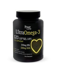 Power Health Power of Nature UltraOmega-3 120 Softgel Caps