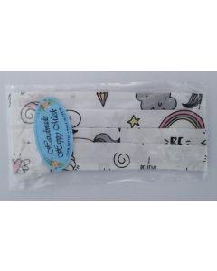 Cotton Mask kids unicorn 1 item